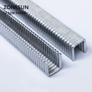 Image 4 - ZONESUN 1 klamra do ręcznego w kształcie litery U 506 503 szczypce do kiełbasy wycinarka ekspres do maszyn, klipsy do supermarketów dokręcania