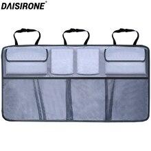 Автомобильный органайзер для багажника, сумка для хранения задних сидений с новым многократным использованием Oxford SUV, хэтчбек, багажник и сиденье, универсальные органайзеры для багажника