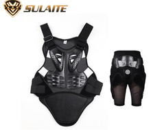 SULAITE Motorcycle Racing ATV Bicycle Skiing Motocross Back Protector Body Spine Support