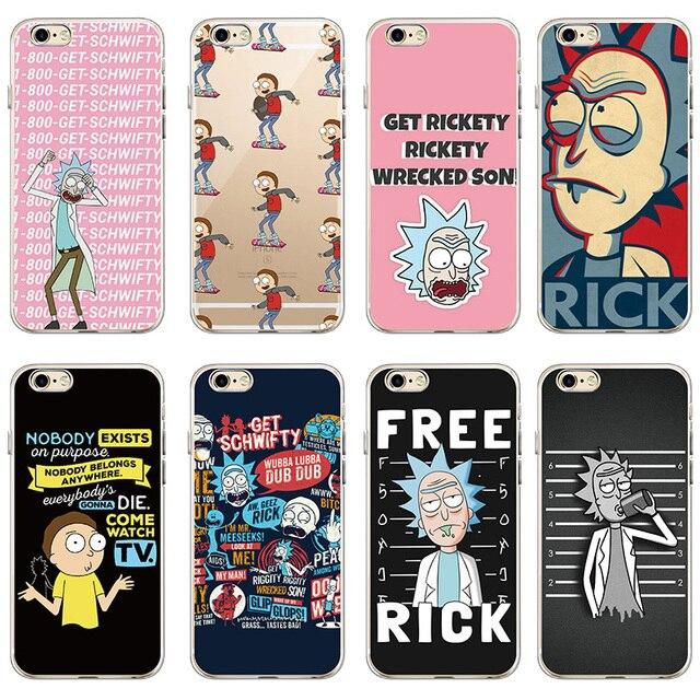 coque rick et morty iphone 7