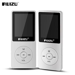Image 4 - Orijinal RUIZU X02 MP3 çalar 8GB depolama ile 1.8 inç ekran MIni taşınabilir spor Mp3 destek FM radyo, e kitap, saat, kaydedici
