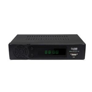 Image 2 - DVB T2 odbiornik DVB T cyfrowa telewizja HD Tuner Receptor wsparcie Youtube MPEG4 DVB T2 H.264 naziemny dekoder zestaw z odbiornikiem Top Box