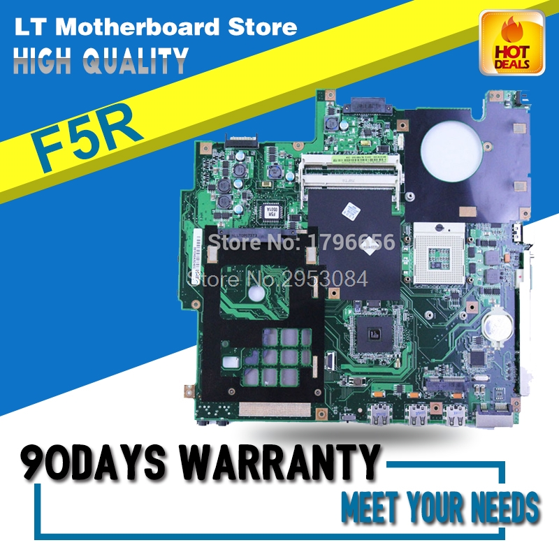F5R Motherboard For ASUS Laptop X50R F5R F5RL X50RL Motherboard System Board Mainboard Tested Well Free Shipping for asus f5rl x50rl rev 2 0 laptop motherboard mainboard 08g2005fr20v 90days warranty
