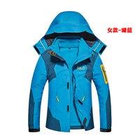 Womens Men Winter Softshell Jackets Outdoor Sport Waterproof Inside Fleece Coats Hiking Camping Trekking Ski Male