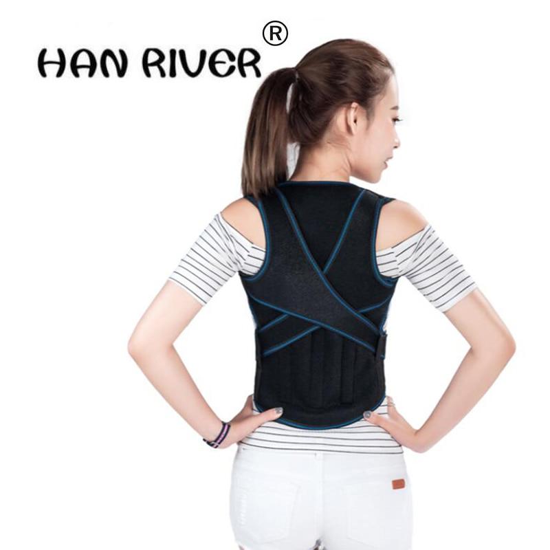 Adjustable Back Posture Corrector Belt Therapy Chest Brace Support Belt for hunchback Posture Correction for children and adult free size o x form legs posture corrector belt braces