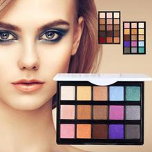 POPFEEL Professional 15 Color Magic Glitter Eyeshadow Palette Matte Pigment Makeup Eye Shadow Shimmer Party Makeup Cosmetic
