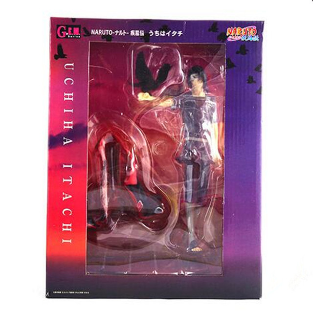 Naruto Figure Uchiha Itachi Toys PVC Action Figure