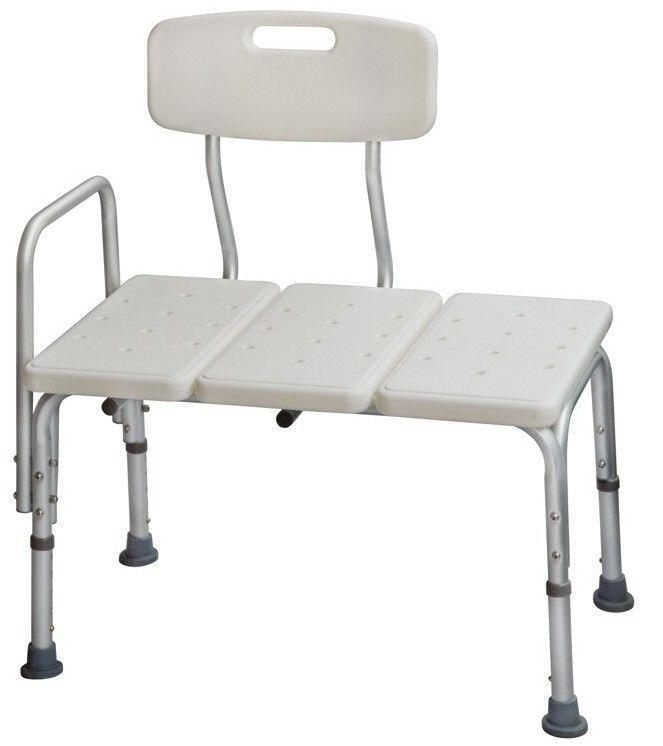 sedia a rotelle per vasca da bagno doccia bagno medica trasferimento panca sgabello sedile e le mani ferroviarie in sedia a rotelle per vasca da bagno