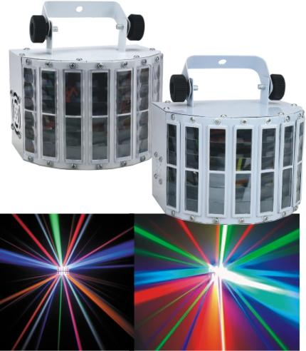 1pc Mini LED Double Derby Light For STUDIO Club Part  Stage KTV Dance Bar Liminaires Theatre Cyclorama Illuminacion Lighting