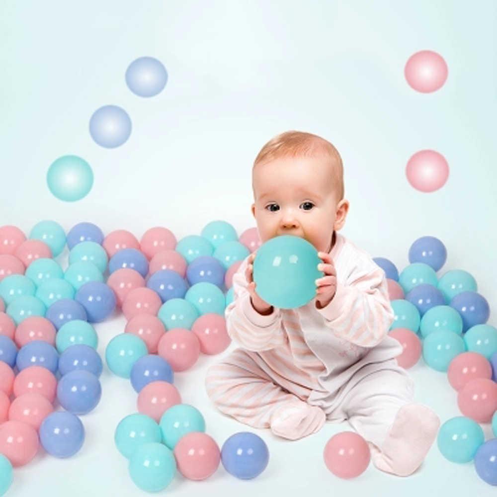 200 قطعة/الوحدة البلاستيك كرة أوشن صديقة للبيئة الملونة الكرة لينة مضحك طفل طفل السباحة حفرة لعبة المياه بركة المحيط موجة الكرة ضياء 5.5 سنتيمتر