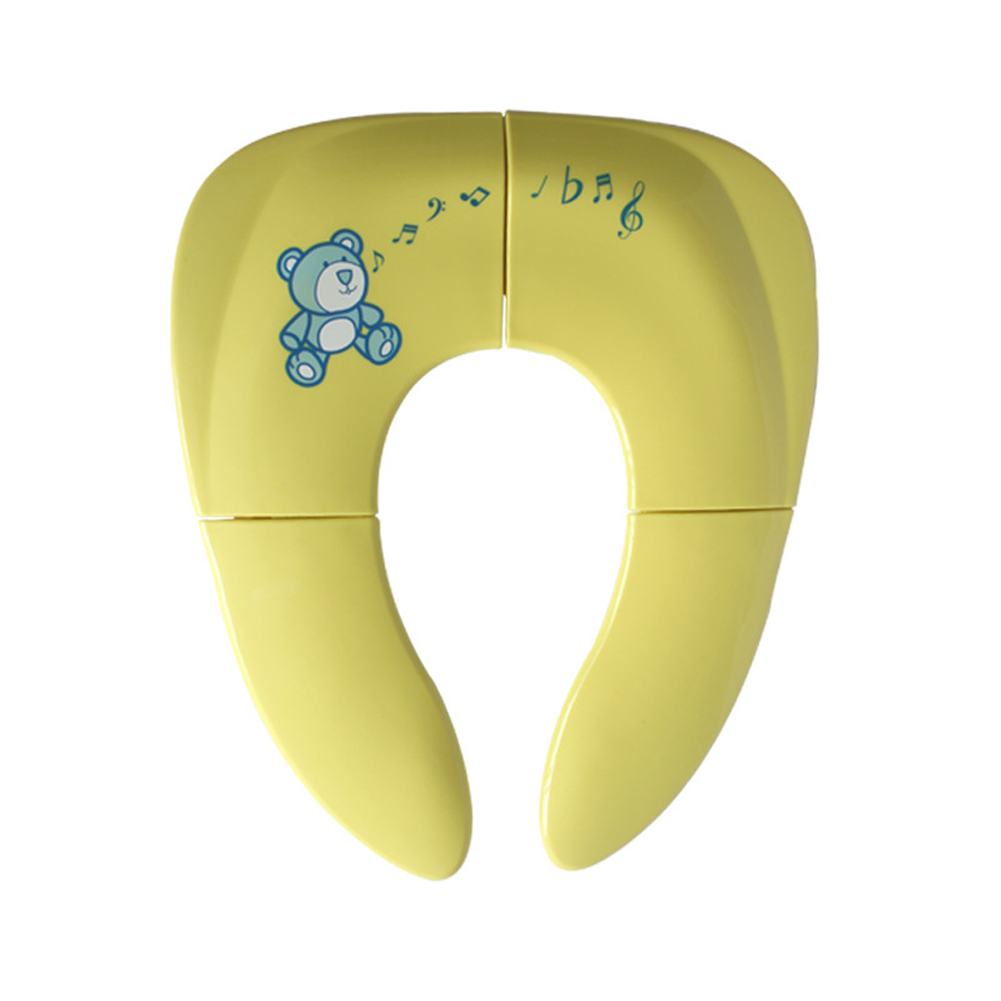 Smooth Baby Kids Travel Potty Seat Folding Toddler Safe Chair Pad Portable Home Practical Anti-slip Toilet Training