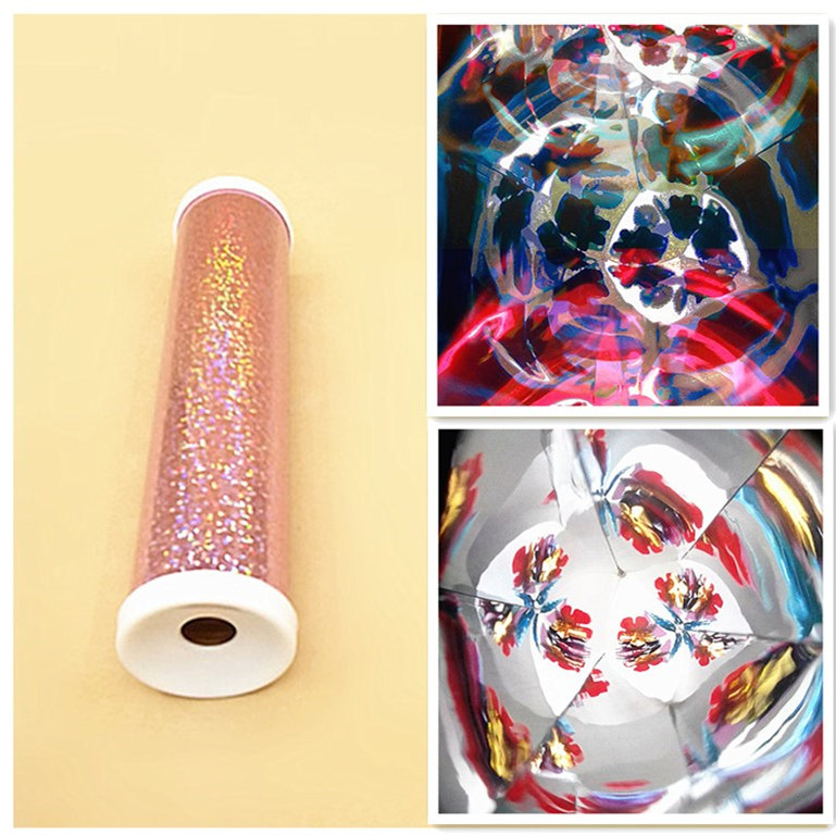 Handmade Kaleidoscope Light Reflected Mirror Imaging Principle Funny Physics Experiment Material For Students Children Kids