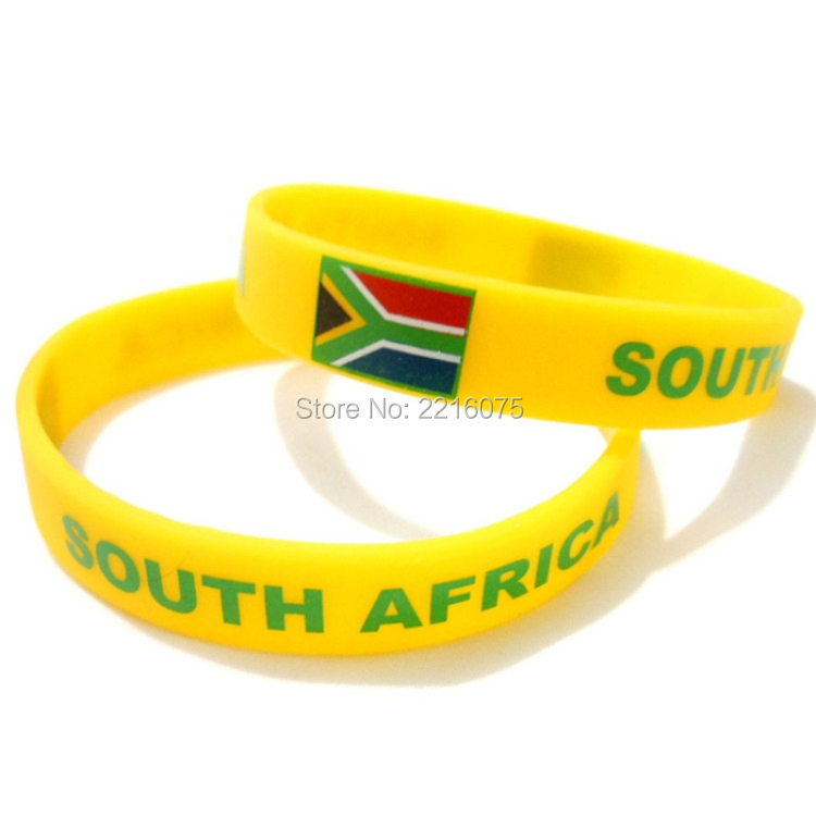 South Africa Silicone Wristband 29