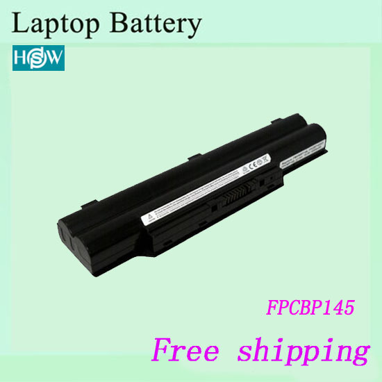 New  Laptop batteries For Fujitsu  LifeBook AH572 E751 LH700 LH772 P701 P771 P772 P772 FPCBP145  battery