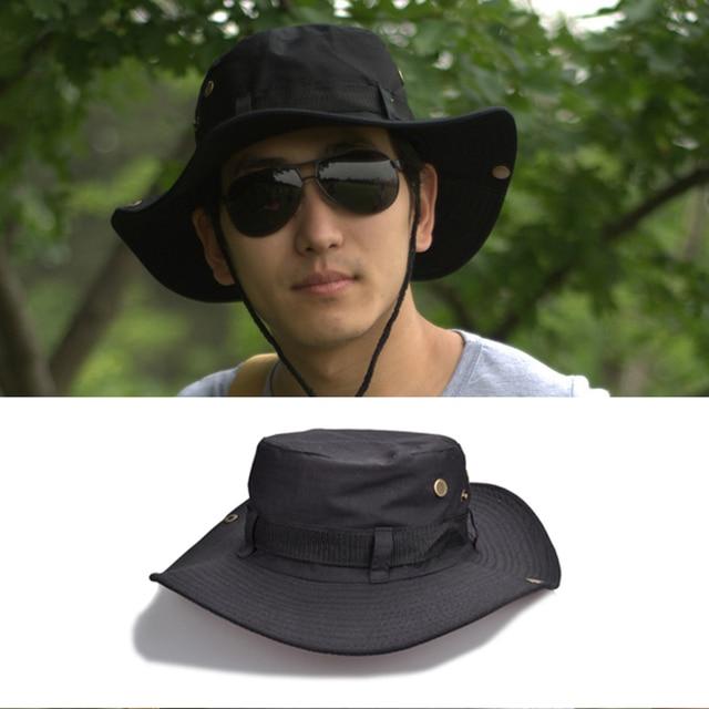 797701883a0cf Fishing Cap 1 X Outdoor hat Hiking Sun Hat Men s Outdoor Foldable Beach Cap