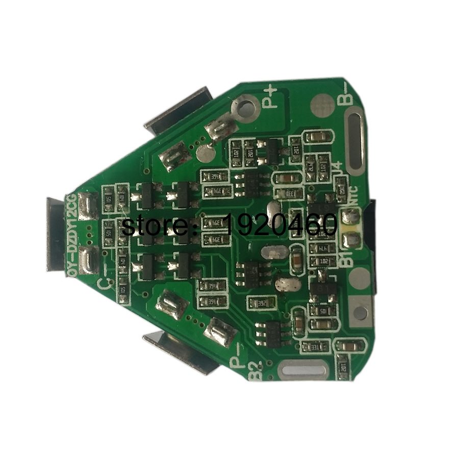3 S 25A BMS PCM PCB Li-Ion Batterie Bord Für Elektrische Werkzeuge Elektrische Hand Bohrer Schraubendreher