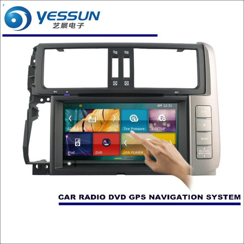 YESSUN For Toyota Prado 150 / GX 460 2009~2013 Car Radio CD DVD Player Amplifier HD TV Screen GPS Nav NaviNavigation Audio Video