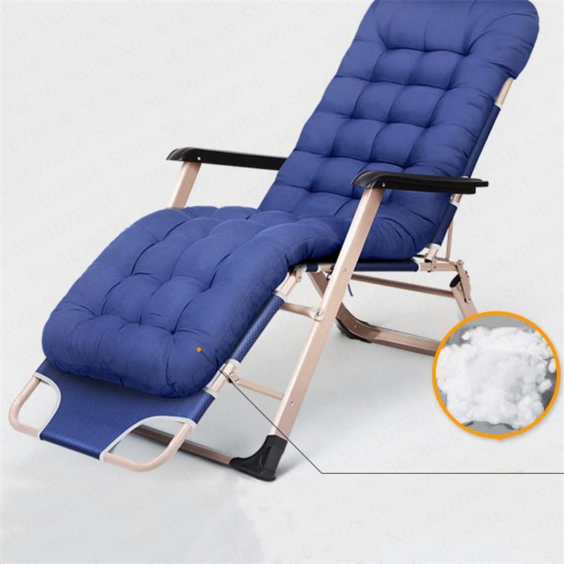 Folding Chair Lunch Break Nap Bed Backrest Chair Lazy Beach Home Leisure Multi-function Portable Folding Bed  Tumbona Plegable
