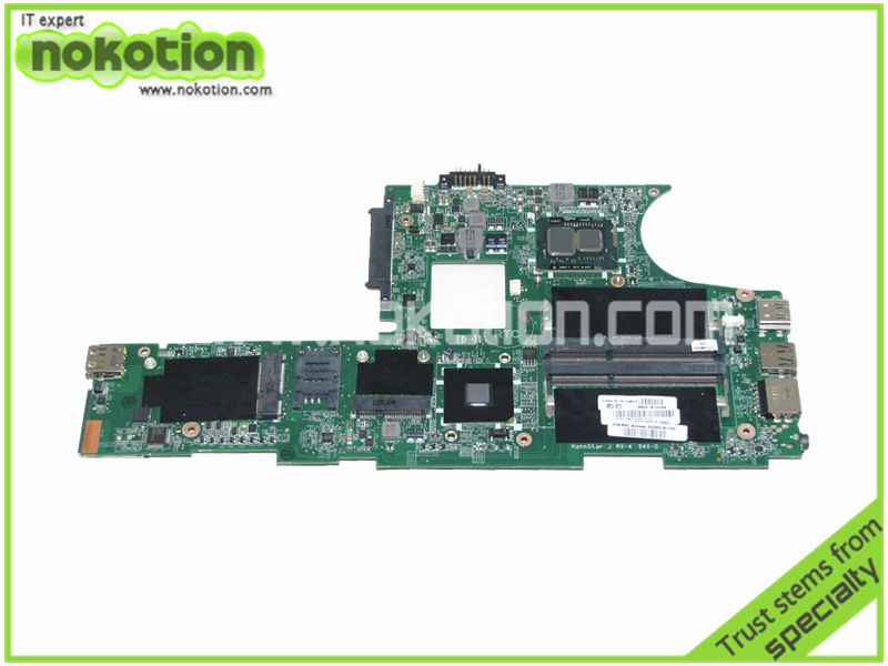 NOKOTION Laptop Motherboard for Lenovo E10 E11 I3-380 CPU Onboard FRU 04W0314 HM55 fru 63y1896 for lenovo thinkpad w510 laptop motherboard qm67 ddr3 nvidia quadro fx 880m 15 6 inch