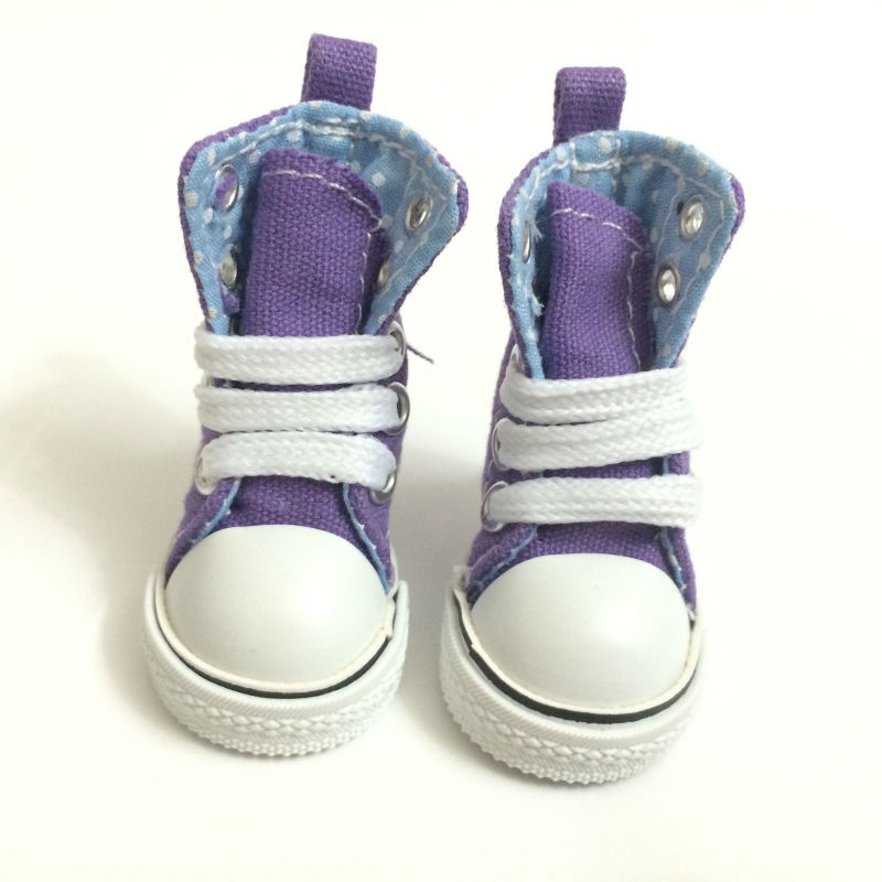 5 CM Casual Canvas Shoes BJD Doll Shoes Accessories for Dolls Fashion Sneaker Shoes 1 6