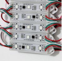 WS2811 DMX 3LED DC12V LED Garden Light SMD5050 RGB Waterproof LED Pixel Digital Module String Light
