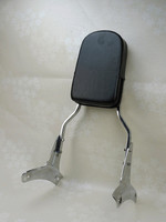 Sissy Bar BackRest Motorcycle Seat Back Pad For 1998 1999 2000 2001 2002 2003 Honda ACE 750