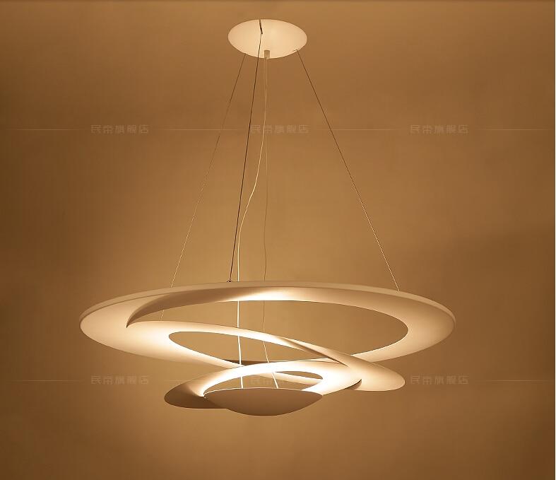 Diseño moderno comedor Pendat luces rotación Abajur Hanglamp hogar ...