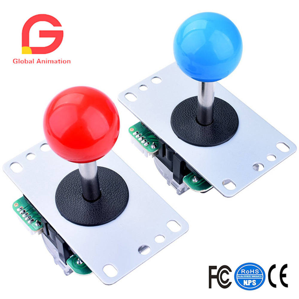 US $50 19 10% OFF|Aliexpress com : Buy For Raspberry Pi 3 2 Model B  Retropie LED Arcade DIY Parts 2x Zero Delay USB Encoder + 2x 8 Way Joystick  + 20x