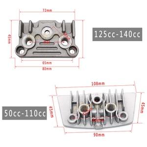Image 4 - אופנוע שמן קירור רדיאטור קריר סט עבור 50 70 90 110 125 140cc אופני עפר קוף אופני DAX כיס אופני טרקטורונים מנוע