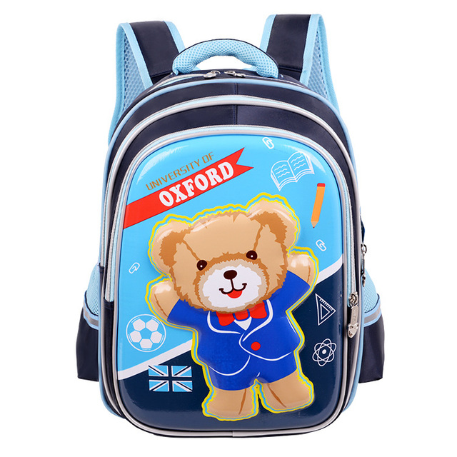Cartoon Lovely Bear Orthopedic Children School Bags For Boys Girls Kids Backpack Teenagers Mochila Satchel School Bag Schoolbag