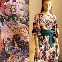 30 mm heavy crepe silk fabric 114 cm digital inkjet fashion dress silk fabric natural 100 silk fabric