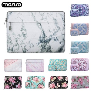 Image 1 - MOSISO Soft Laptop Bag Sleeve 11.6 12 13.3 14 15.6 inch Canvas Notebook Sleeve Bag for Macbook Air Pro 13 15 Dell Asus HP Acer