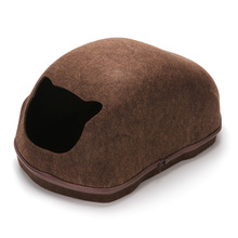 Cat Bed Dog Cave Egg Shape Warm Sleeping Bag  Pet House Nest Basket Products for Cats Puppys High Quality Supplies Wholesale