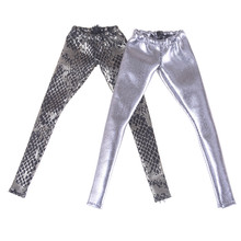 1PCS Doll Tight Leggings Pants Clothes Bottoms Pants Trousers Fashion Outfit For 1/6 Dolls Accessories недорого