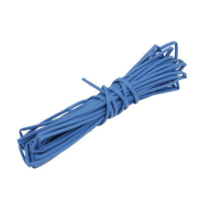Ratio 2:1 0.8mm Dia Blue Polyolefin Heat Shrinkable Tube 30M ratio 2 1 7mm dia yellow polyolefin heat shrinkable tube 10m
