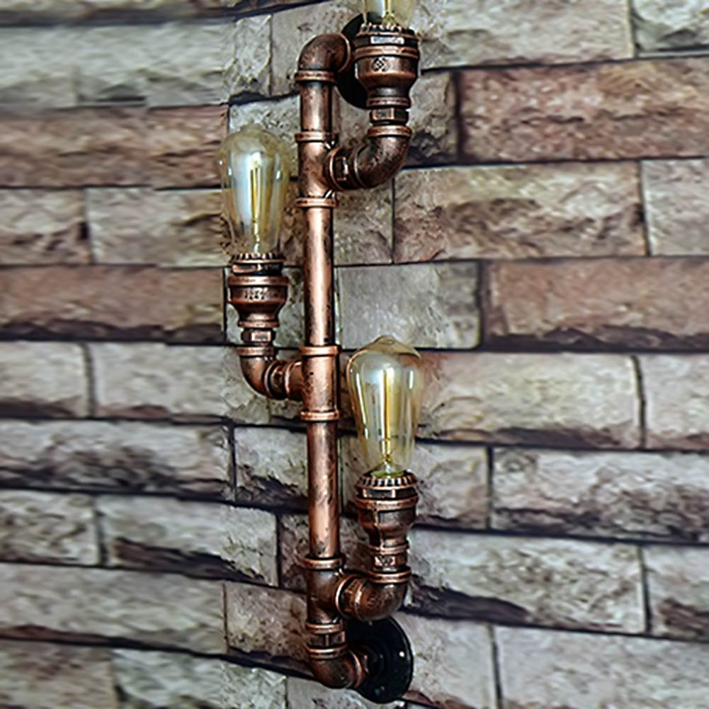Vintage Water Pipe Wall Lights