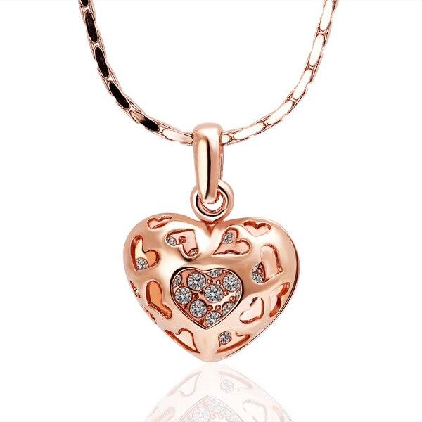 18K Plaqué Or Amour Coeur Cristal Blanc keychain women/'s Voiture Porte-Clés Key Chain