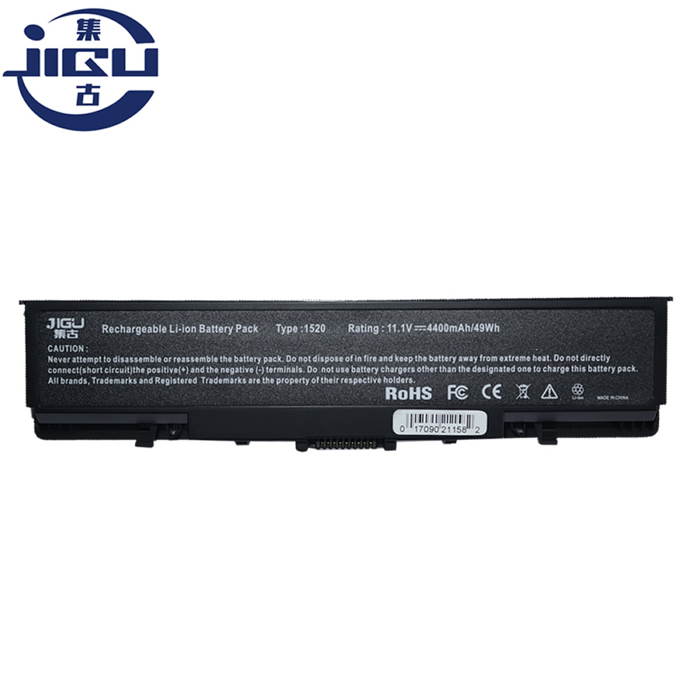 JIGU Laptop <font><b>Battery</b></font> For <font><b>Dell</b></font> For Vostro 1500 1700 For <font><b>Inspiron</b></font> 1520 1521 <font><b>1720</b></font> 1721 GK479 GR995 KG479 NR222 NR239 TM980 FK890 image