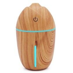 Ultradźwiękowy olejek eteryczny do nawilżacza powietrza dyfuzor światła elektryczne do aromaterapii Usb nawilżacz rozpylacz zapachu do samochodu Nawilżacze powietrza    -