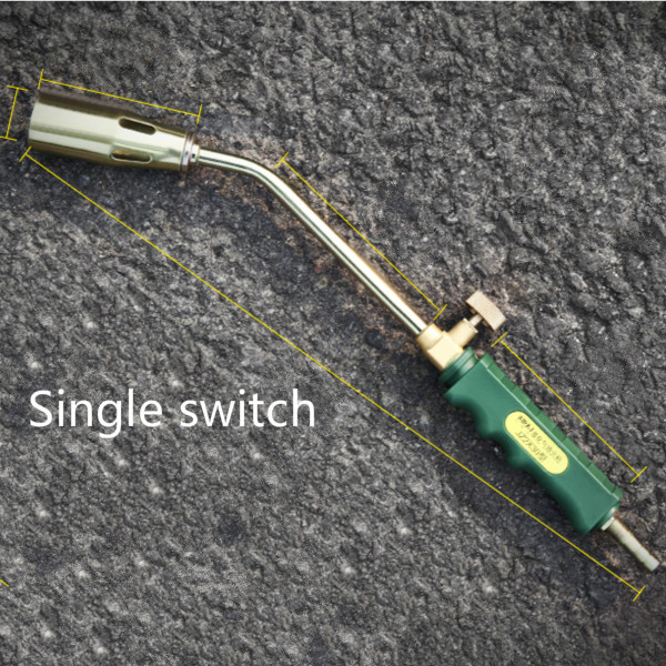 50mm single switch Liquefied gas burner gas gun butane gas barbecue household waterproof high temperature flame thrower
