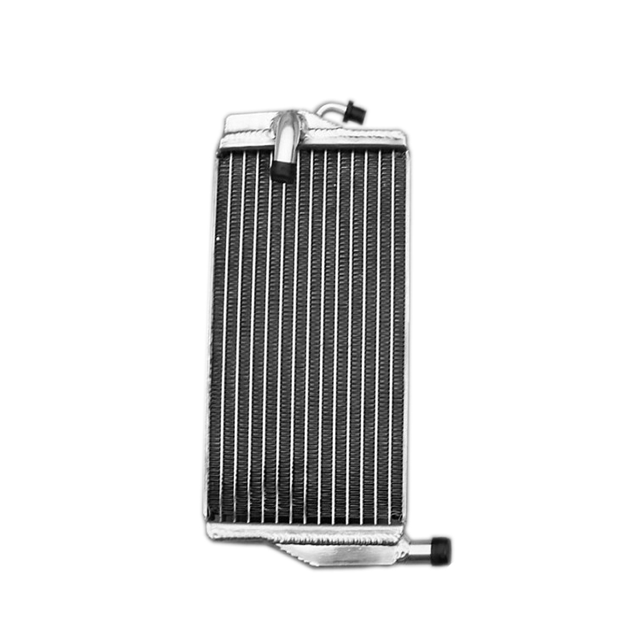 ФОТО Jungle Army Left side of Aluminum radiator For Honda CR 250 R/CR250R 2002 2003 2004 engine cooling accessories