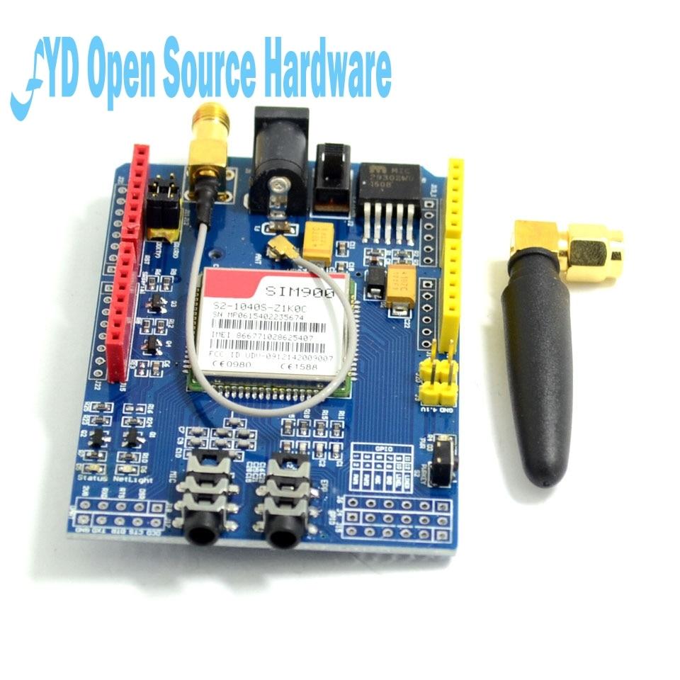 SIM900 GPRS/GSM Shield Development Board Quad-Band Module for arduino Compatible with UNO MEGA 2560