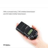 Godox Mini Speedlite TT350 TT350C TT350N Camera Flash Flashlight for Canon Nikon Sony Fujifilm Pentax Olympus DSLR Camera Flash