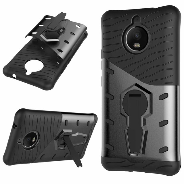 wholesale dealer 384aa 6edae US $3.02 15% OFF|For Motorola Moto E4 Plus CASE Shockproof Rugged Armor  Hybrid Case 360 Stand Cover For Moto E4 Plus-in Half-wrapped Case from ...
