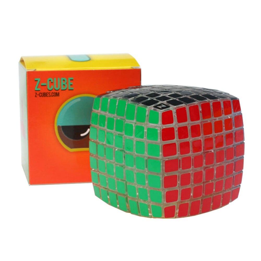 ZCUBE Transparent 7*7*7 Magique Cubes Puzzle Vitesse Cube Jouets Éducatifs Cadeaux pour les Enfants Enfants
