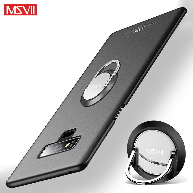 Coque For Samsung Galaxy Note 9 8 Case MSVII Finger Ring Cover For Samsung Note 9