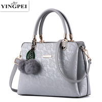 YINGPEI Women Messenger   Bags   Luxury tote Top-Handl fashion purses leather clutch handbags famous brands designer High quality