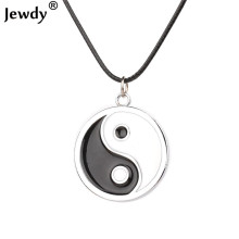 Ocean Eight Diagrams Tai Chi Black and White best friends pendant necklace yin yang necklace friendship top men women jewelry