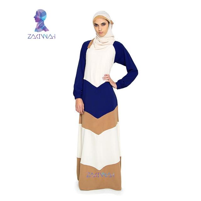 Z004 Горячий стиль дамы 3 цвета сращены цветные абая дубай арабский абая мода плюс размер исламская одежда женщин djellaba