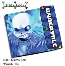 Cool Undertale Sans Papyrus Wallet Purse Bag Handbag Holder Layers PU Money Coin Wallet Purse Bag Gift